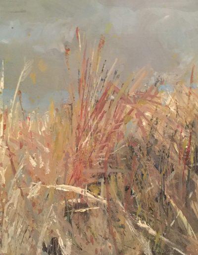 Yellowcrags at Dawn. 60x80cm. Oils.