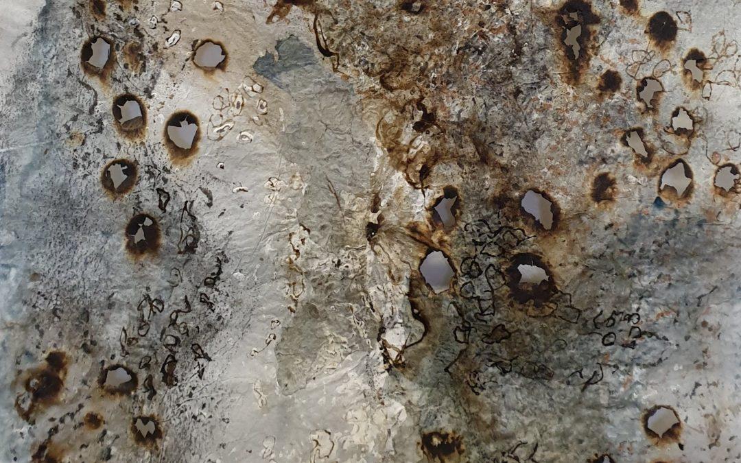 Solo exhibition: 'Sea Wrack and Flotsam', the Skylark, Portobello